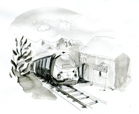 qualitair corse train - Illustrations pour Qualitair Corse