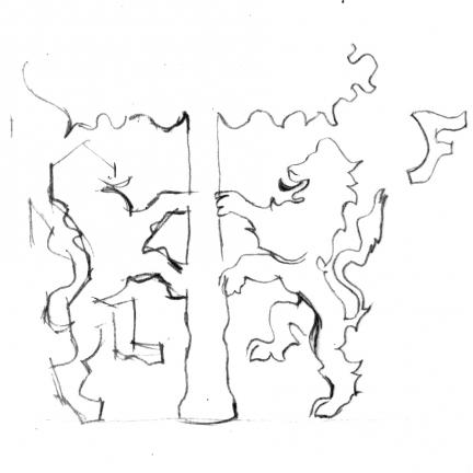 armoiries dessin famille franceschi 432x432 - Armoiries - blason de la famille Franceschi