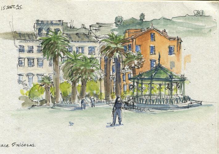 croquis place st nicolas bastia - Croquis Place St Nicolas Bastia