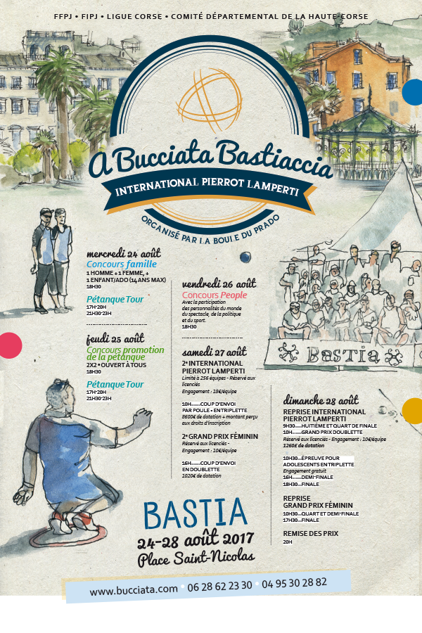 a bucciata affiche2017 - A bucciata Bastiaccia