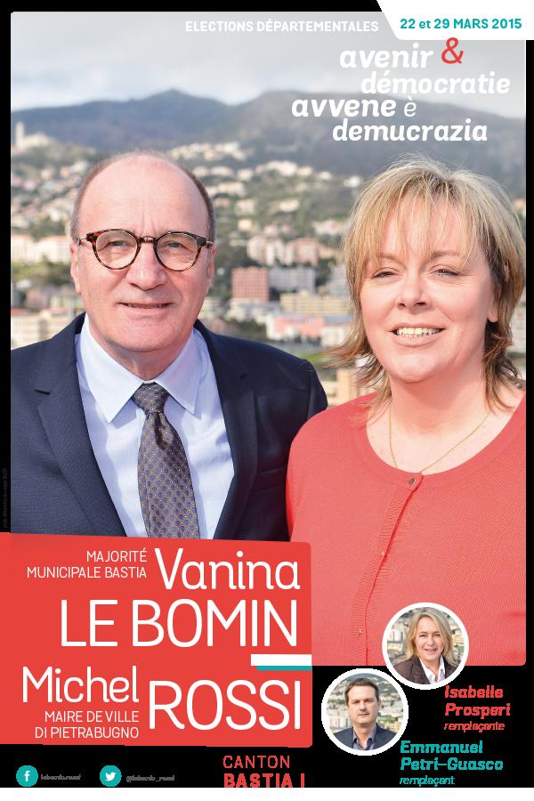 departementales affiche lebomin rossi 600x900 - Elections départementales corse canton Bastia 2015