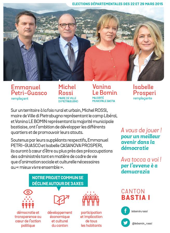 departementales bastia 2015 tract1 - Elections départementales corse canton Bastia 2015