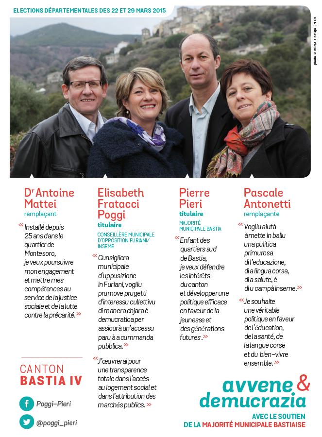 departementales bastia 2015 tract2 - Elections départementales corse canton Bastia 2015