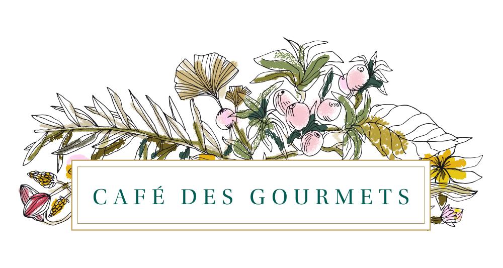 cafe des gourmets logo large color web - Identité visuelle du Café des Gourmets à Bastia