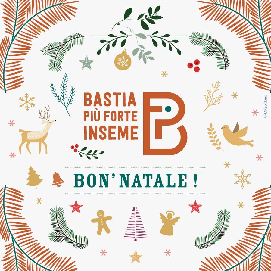 bastia piu forte inseme bonnatale19 - Campagne municipale de Pierre Savelli - Bastia mars 2020