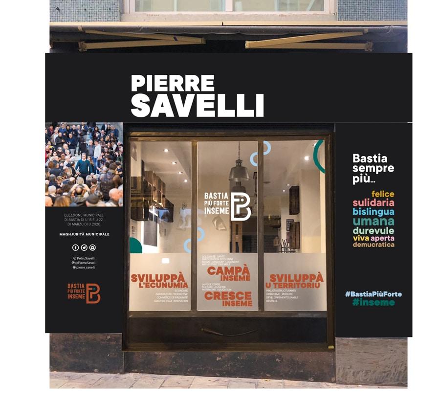 bastia piu forte inseme permanence2 bd paoli - Campagne municipale de Pierre Savelli - Bastia mars 2020