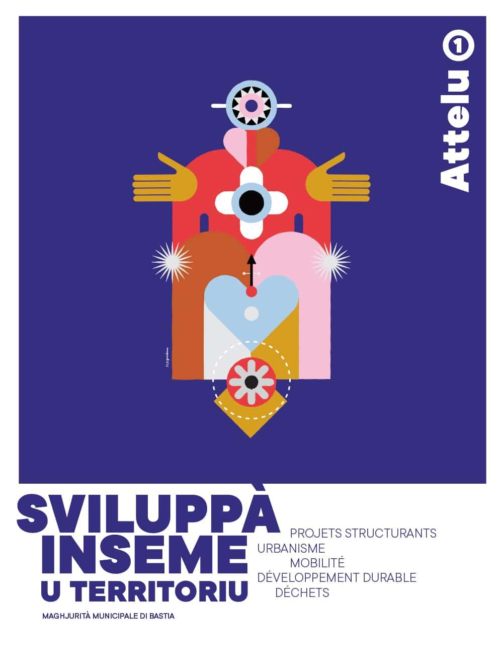 """bpfi attellu1 - Affiches """"Attelu"""" Les ateliers participatifs pour penser le bastia de demain."""