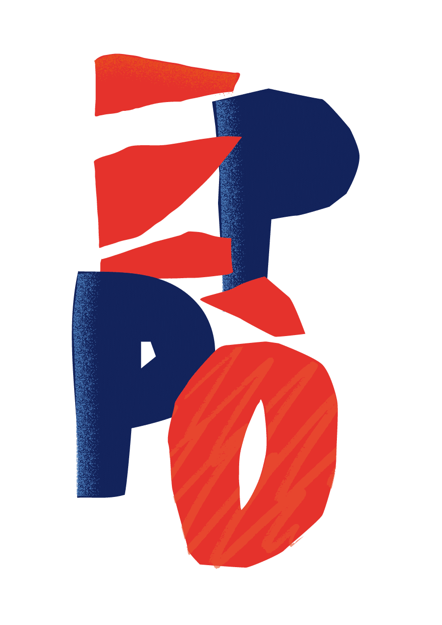 eppo decale red blu - Identité visuelle du groupe corse Eppò