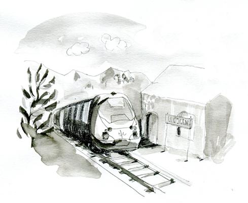 qualitair corse train - Illustrations pour Qualitair Corse