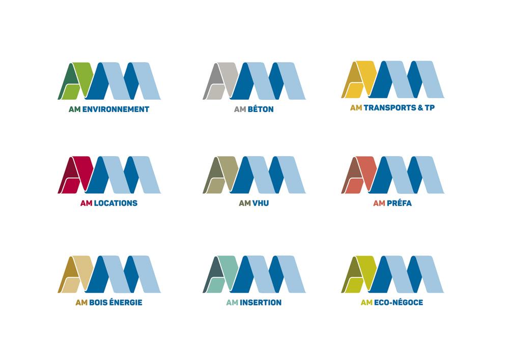 am groupe logos - AM groupe