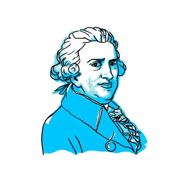 pascal paoli illustration - Illustration digitale Pasquale Paoli