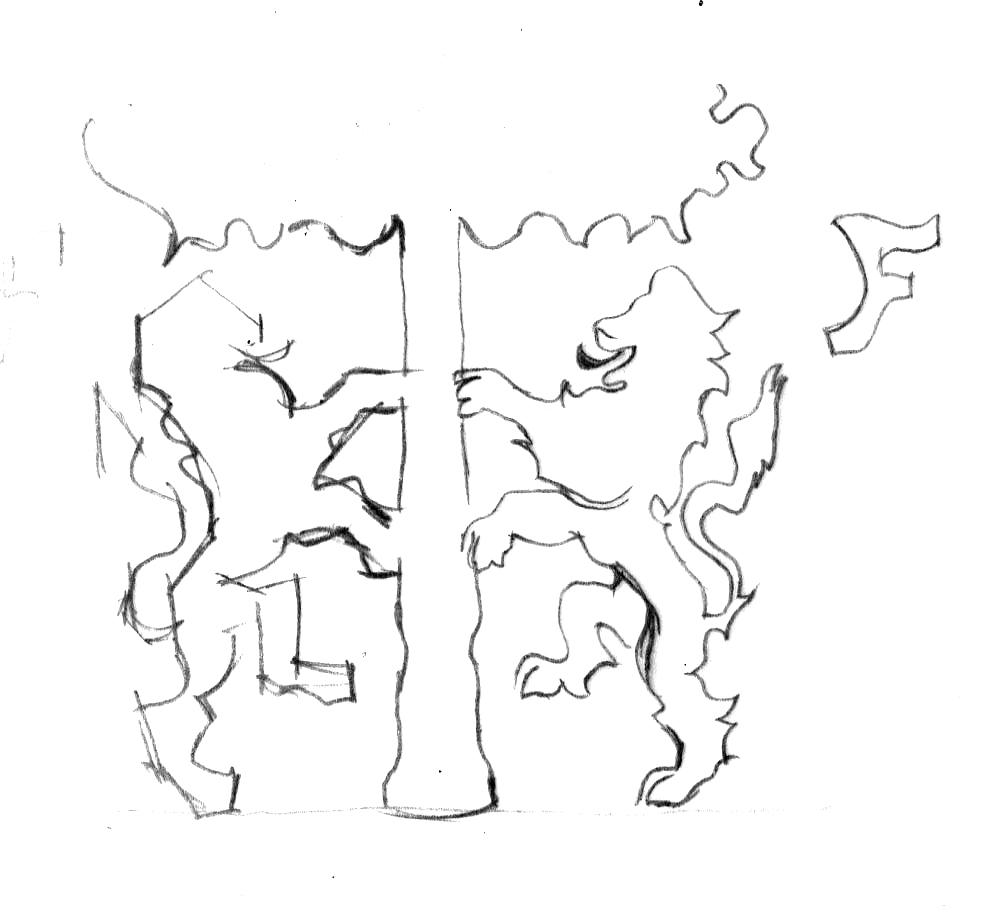 armoiries dessin famille franceschi - Armoiries - blason de la famille Franceschi