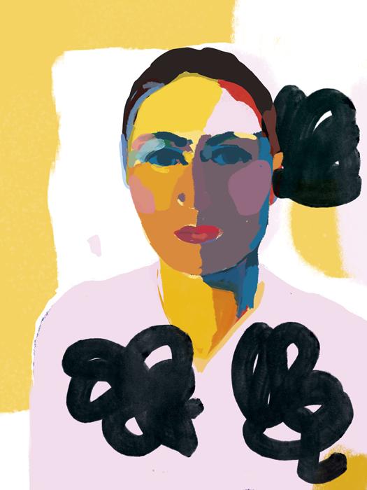 digitalpainting 2 - Portrait • art digital 15/06/17