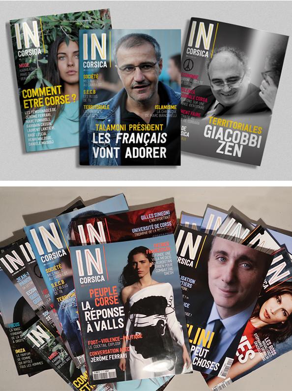 incorsica covers mag - IN Corsica magazine