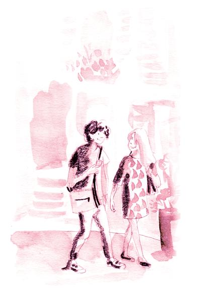 qualitair marche a pieds - Illustrations pour Qualitair Corse