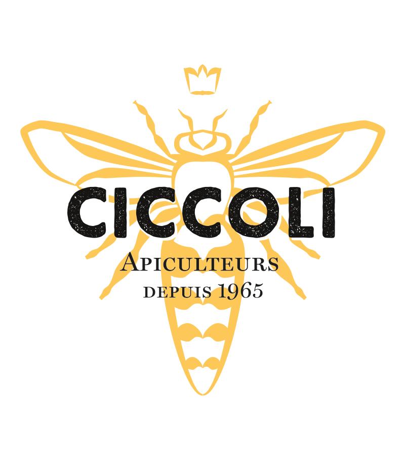 ciccoli logo - Logo Ciccoli Apiculteurs