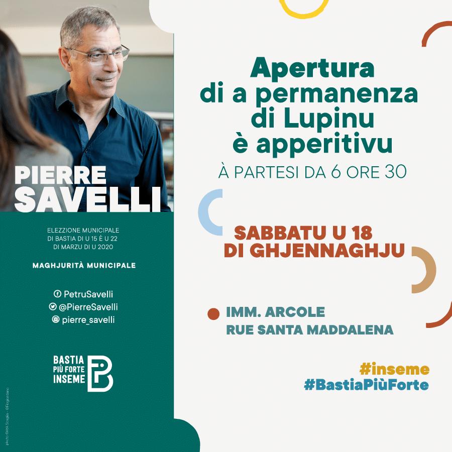 bastia piu forte inseme invitation - Campagne municipale de Pierre Savelli - Bastia mars 2020